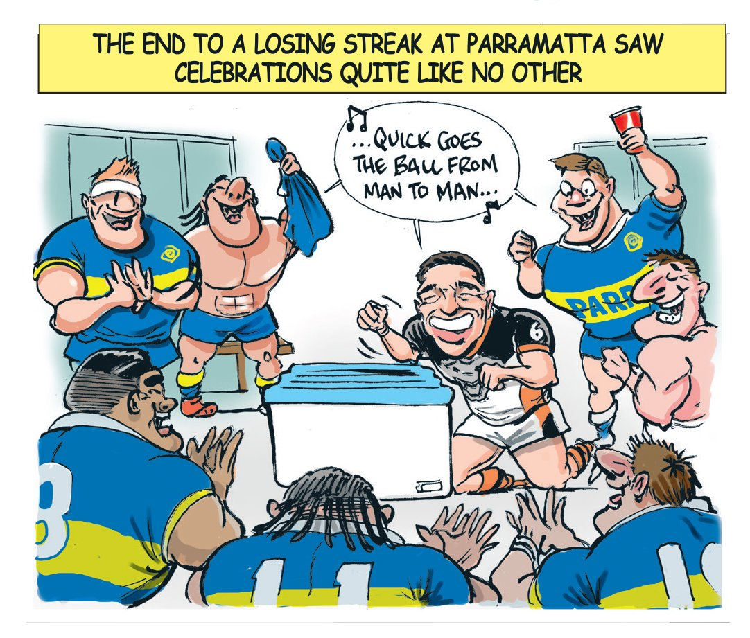 Scott Bailey On Twitter Another Wacky Week In Nrl Land Dragons On Top Des Does A Trump An Eels Ring In A Taste Of My Toons Telegraph Sport Nrltigersbulldogs Https T Co 3o1twcfi07