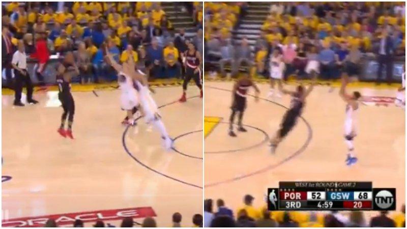 【影片】想學嗎?我教你!Curry手把手向Lillard展示如何投超遠三分