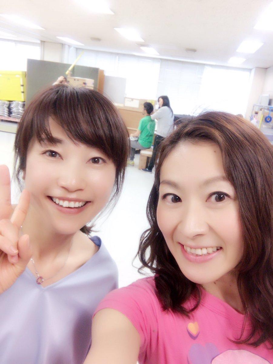 今日はNHKでリハーサル♪りょうこお姉さん、弘道お兄さん、けんたろうお兄さんに会いました。リハ時間よりおしゃべりの方が長かったかも???すごーーい嬉しい時間でした〜