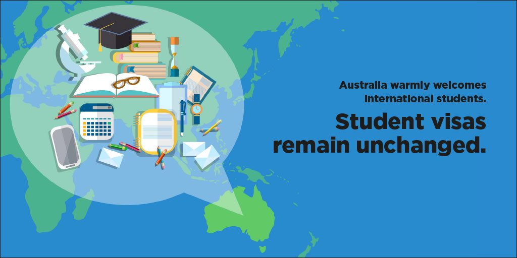 Fact. Australia is open to educating the world. #worldclass #highered https://t.co/1fbH4dP94o
