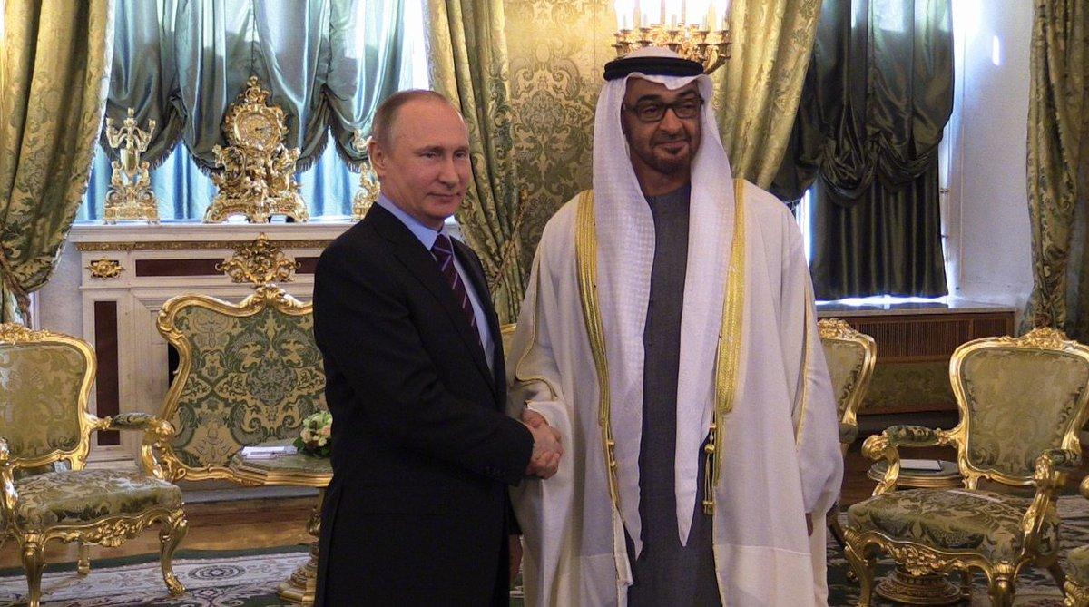 Putin met with crown Prince of Abu Dhabi