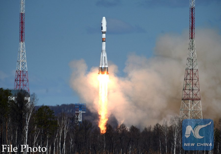 Russia successfully launches Soyuz MS-04 spacecraft carrying two astronauts to International Space Station