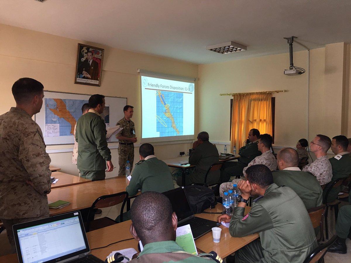 """انطلاق مناورات """"الأسد الإفريقي 17 """" في المغرب بمشاركة أمريكية C928ZETWsAANEUS"""