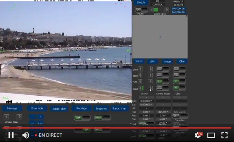 [LIVESTREAM] Check out in live @AzurDrones filming the Cannes Croisette with the #Elistair tethering station #Cannes  http:// goo.gl/JlIZ7h  &nbsp;  <br>http://pic.twitter.com/vf1ncgSq5V