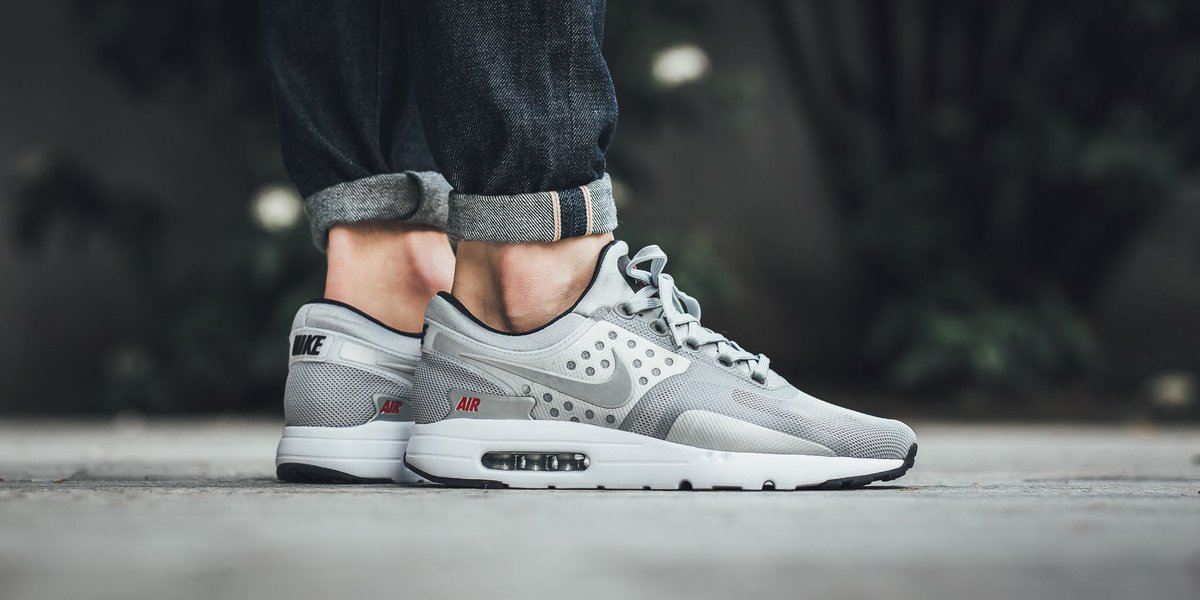 air max zero qs metallic silver