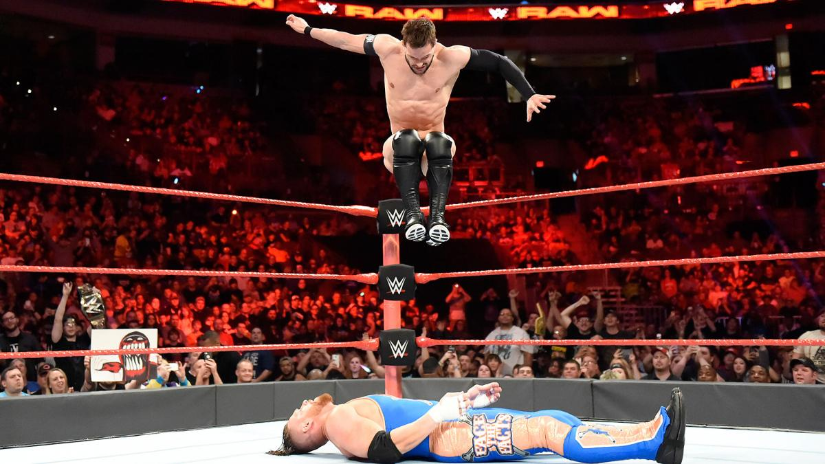 Image result for finn balor coup de grace