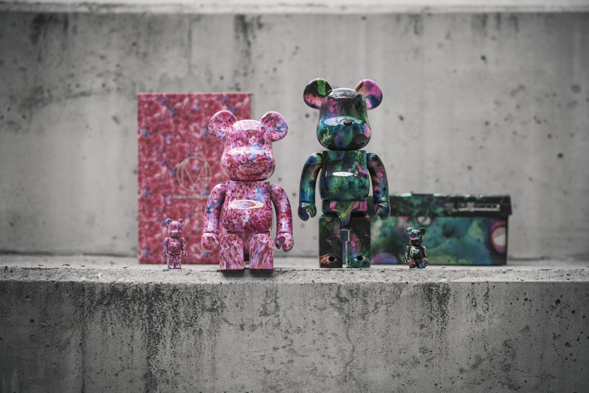 New stuff from Medicom Toys! Available instore at Solebox.   http://solebox.shop/Medicom-Bearbrick …
