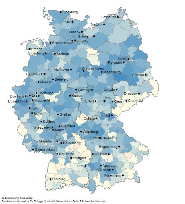Wissenschaft A Twitter Masern Impfquoten In Deutschland
