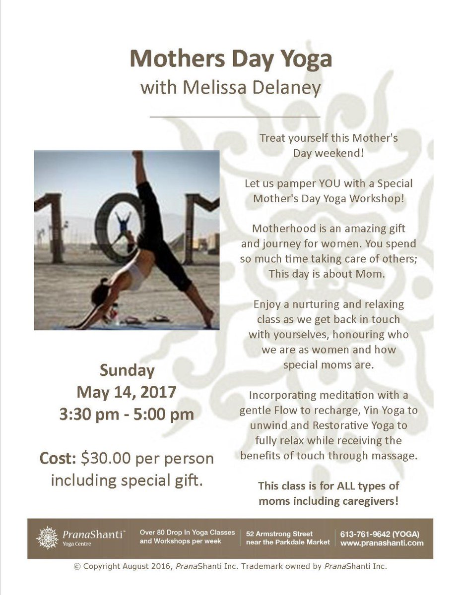Melissa delaney on twitter mothers day yoga sunday may 14 treat sunday may 14 treat yourself or your mom this mothers day let me pamper you space is limited register early httpstednwhxxhsz solutioingenieria Gallery