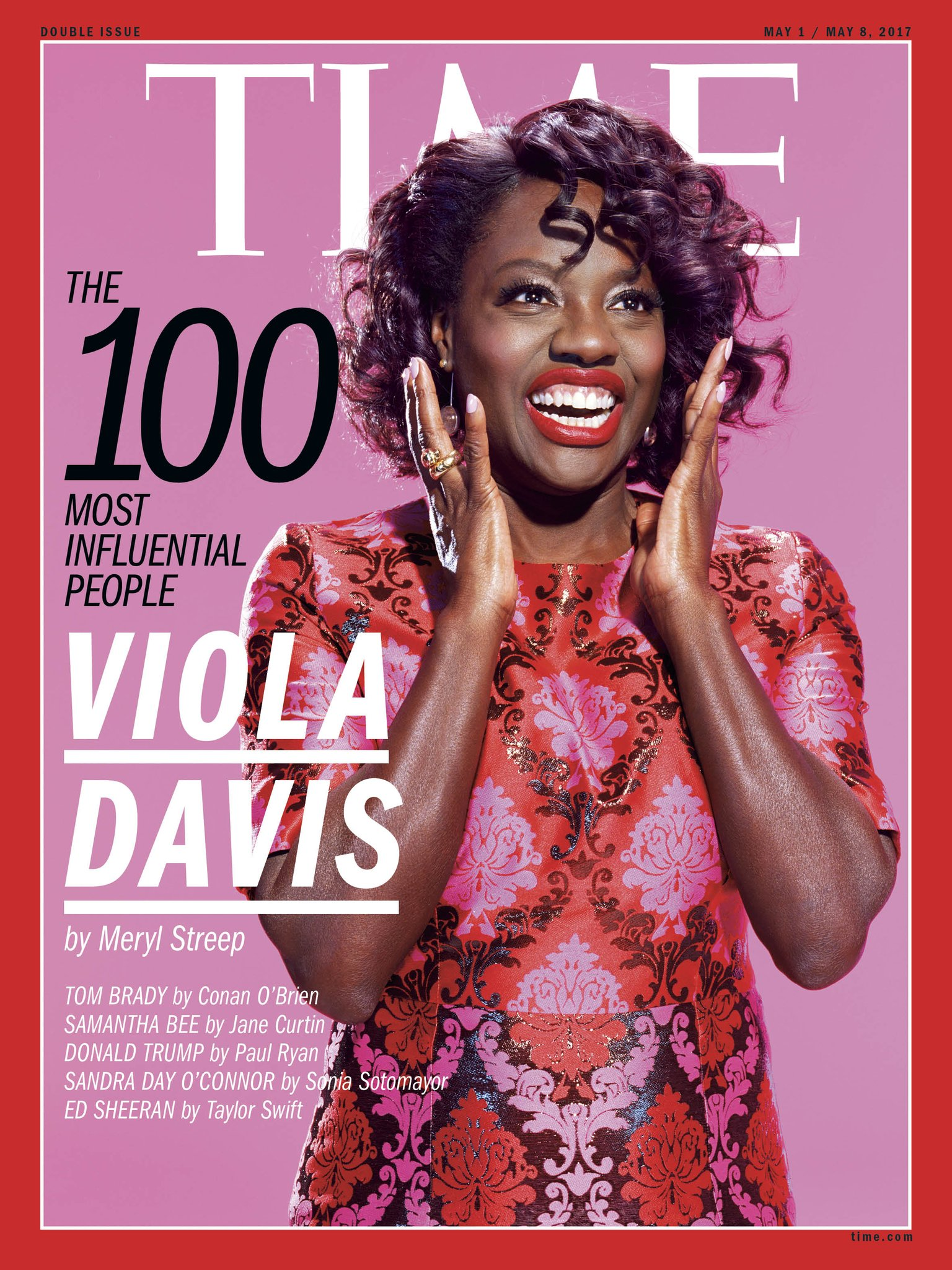 """Meryl Streep on @ViolaDavis: """"Her gifts as an artist are unassailable, undeniable, deep and rich and true"""" #TIME100 https://t.co/pSt3KYqNXV https://t.co/m59y5iDRNQ"""