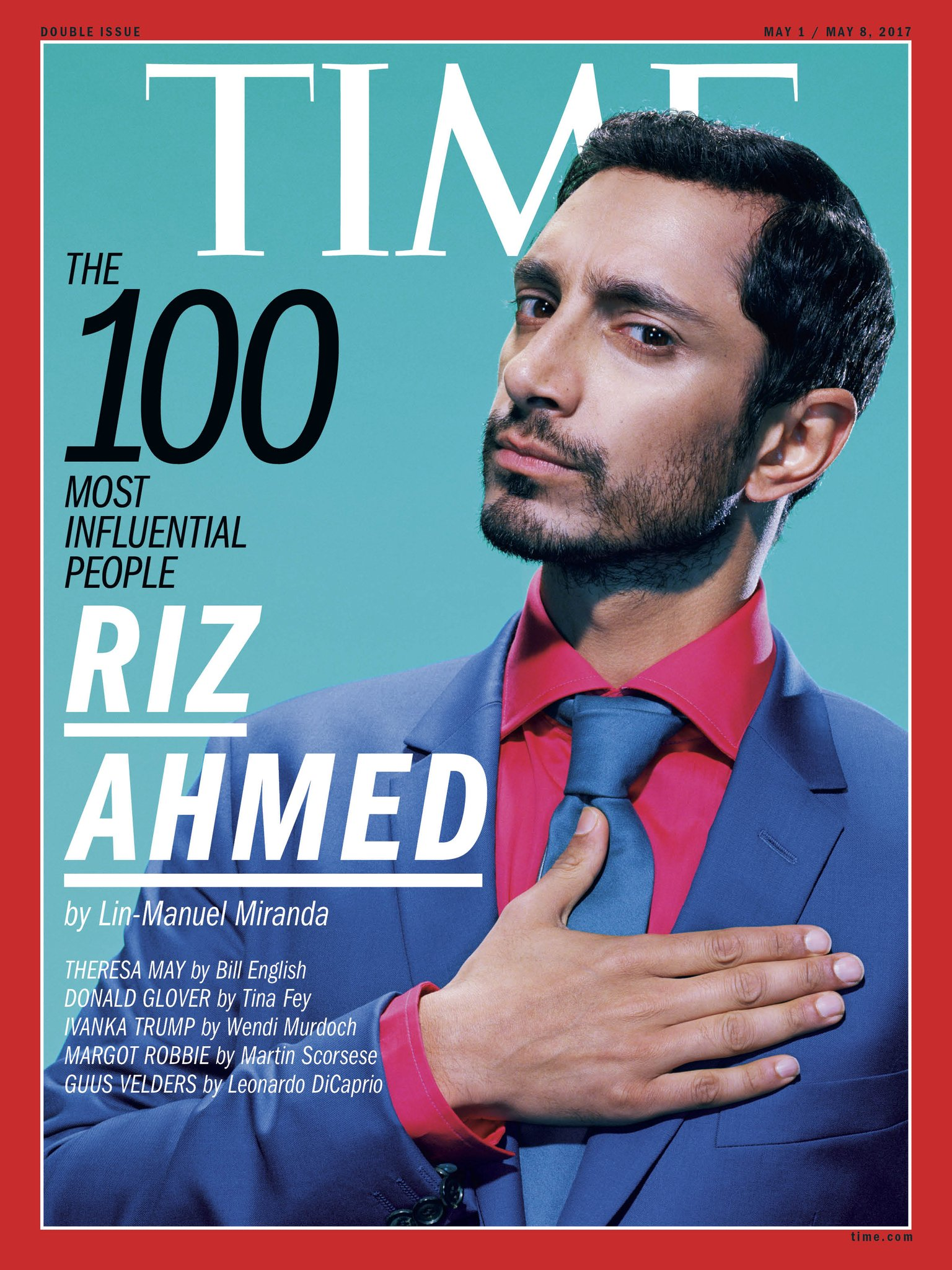 """.@Lin_Manuel on Riz Ahmed: """"To know him is to be inspired, engaged and ready to create alongside him"""" #TIME100 https://t.co/RwGqsF24qi https://t.co/BkWc14UBzP"""