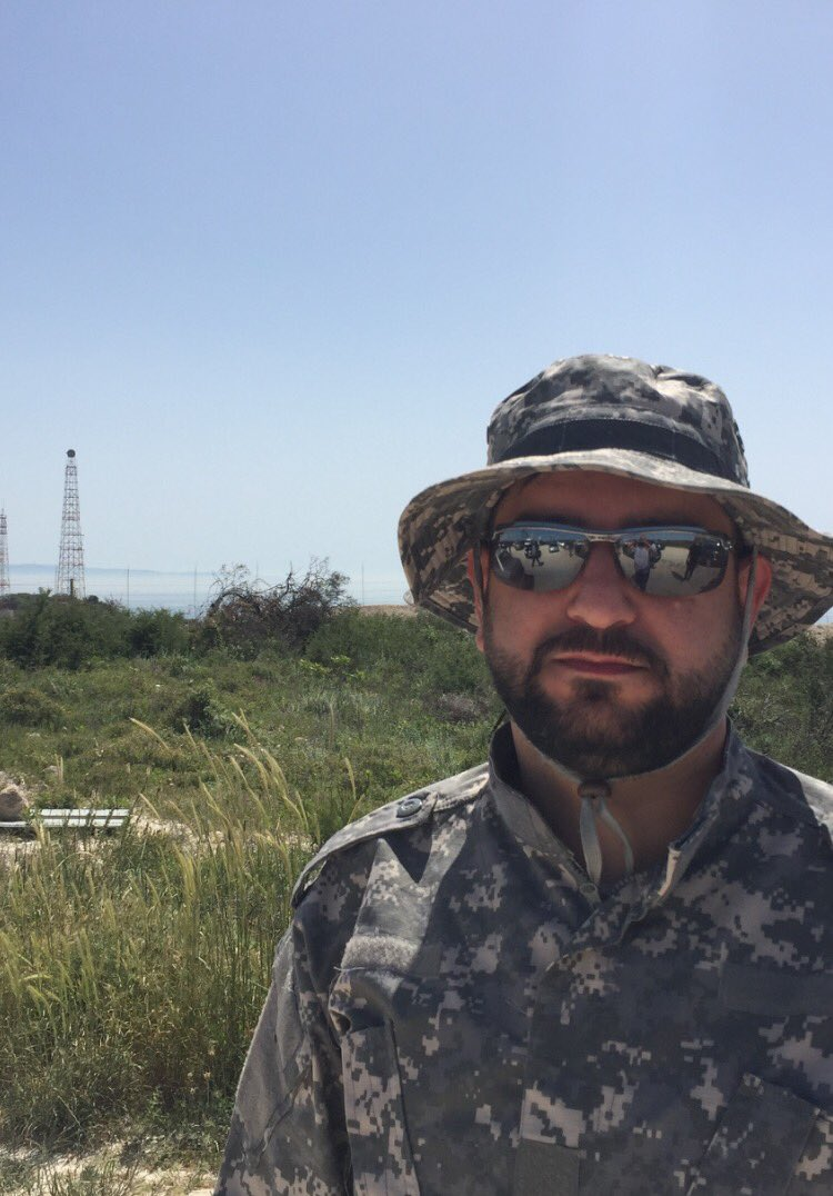 Hezballah military commander only 3 meters away from Israel electronic security fence- the Israel-Lebanon borders