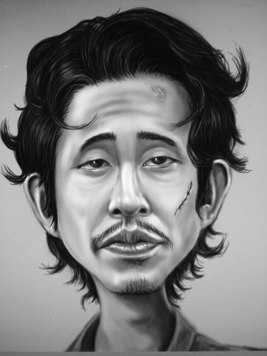 Sketch for Walking Dead tribute  by Gj Harrison  #twd  #WalkingDead_AMC #glenrhee @AMCTalkingDead_ @SteveYeunDaily @steveyeun__  @steveyeunpic.twitter.com/fv01J4oPnd