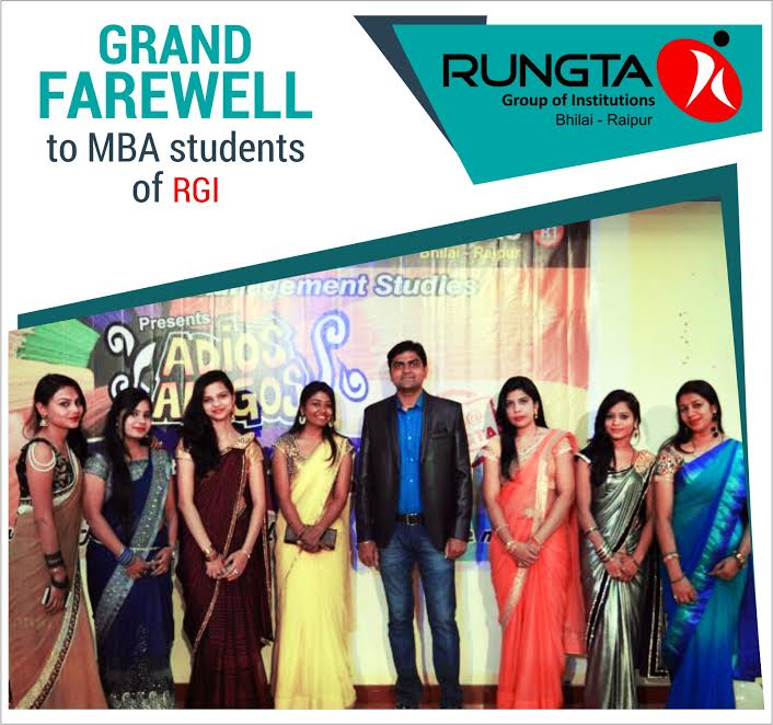 Rungta Colleges Bhilai Raipur On Twitter 2nd Sem Mba Students Of Santosh Rungta Group S Rungta College Of Engineering And Technology Business School Bid Farewell To Their Seniors Https T Co Ucacht7yiv