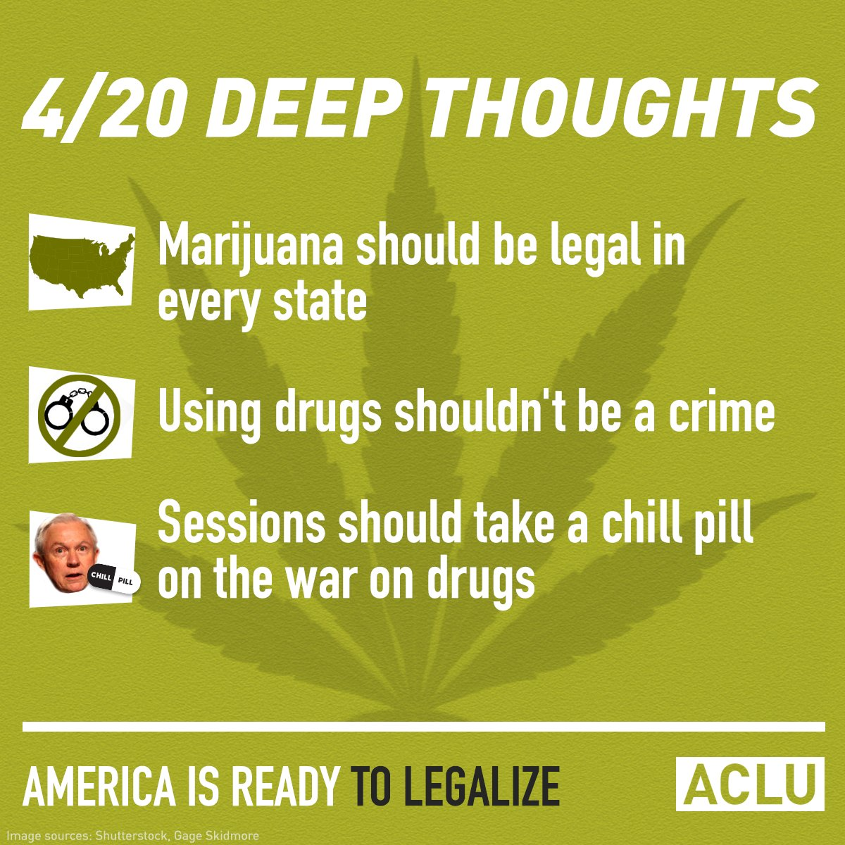 Happy 420 from all of us at the ACLU!