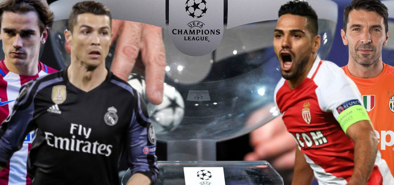 Sorteggio semifinali Champions: Juventus Real Madrid Monaco Atletico Madrid in streaming gratis Rojadirecta
