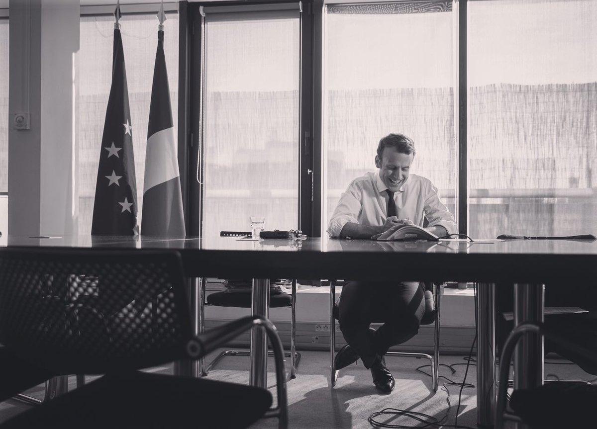 On the phone with @BarackObama.