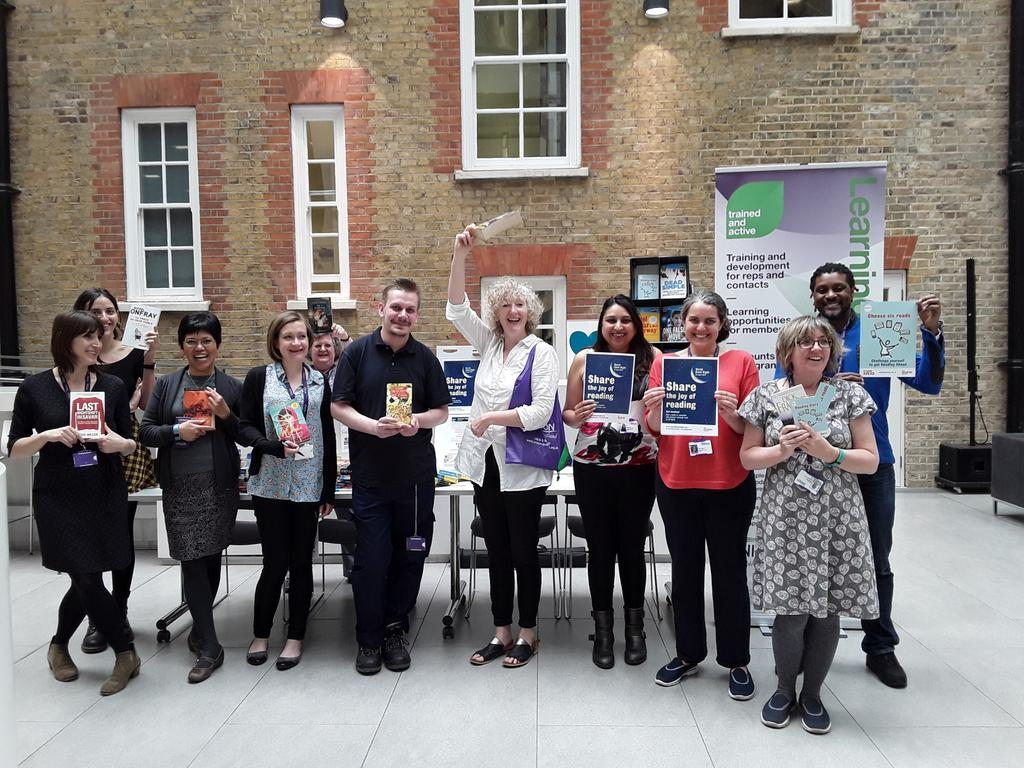 Gathering books to share for @WorldBookNight - thanks to @unisontweets staff for all their donations! https://t.co/Vo4qwN5eK7