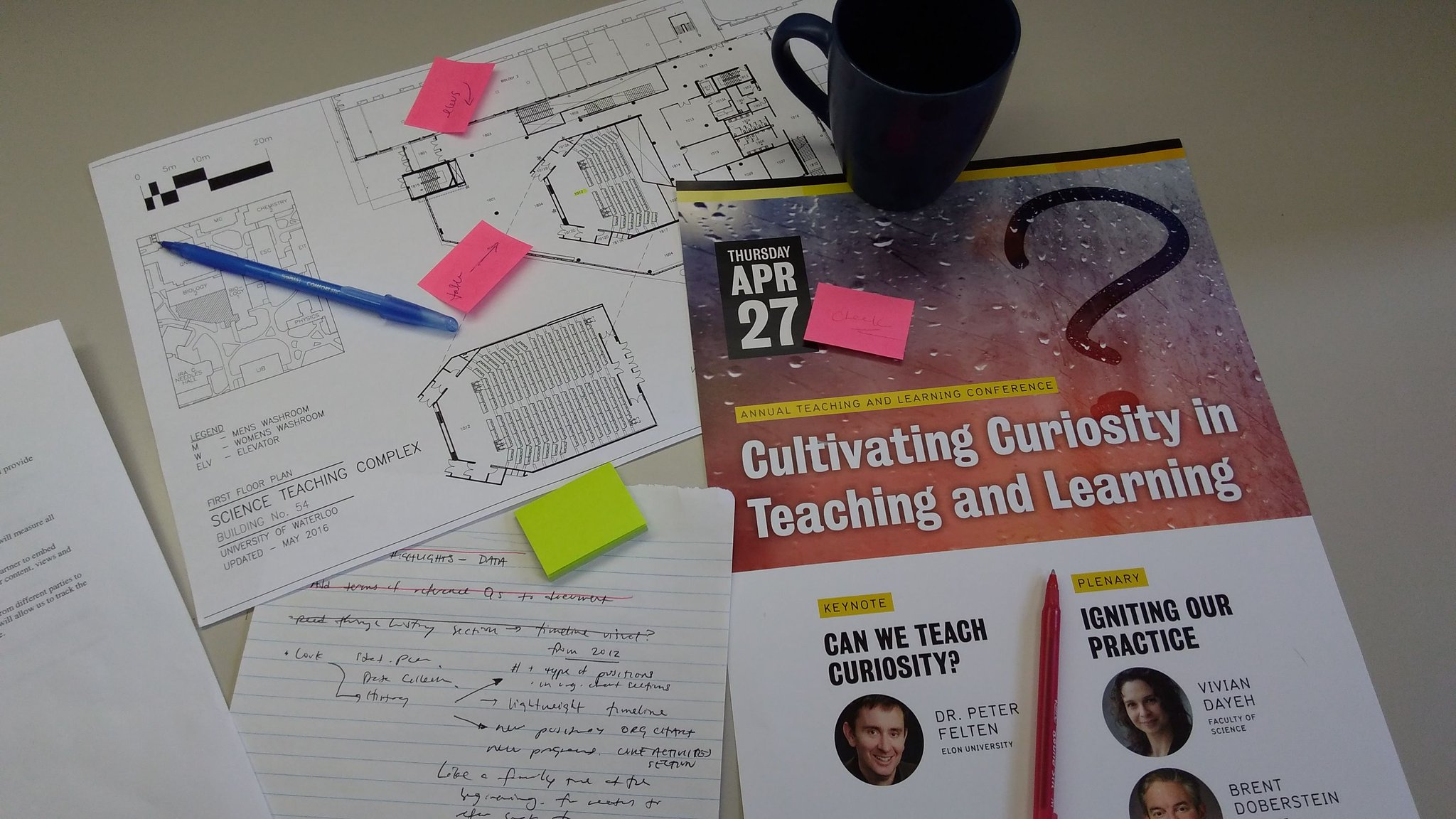 We're in serious planning mode--our ninth annual Teaching and Learning Conference is just one week away! #UWTL17 https://t.co/meEvxHiIl4 https://t.co/7CSX8RlJly