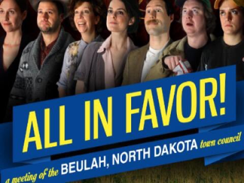 TN at 8pm! All in Favor; a Meeting of the Beulah, North Dakota Town Council @ucbtny newyork.ucbtheatre.com/performance/52…