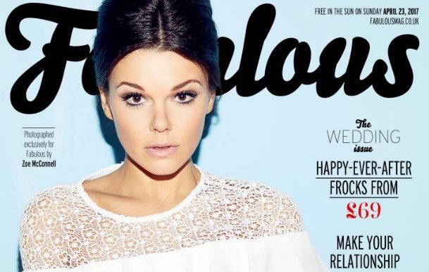 Oh wow - how beautiful is my lady @Faye_Brookes in @Fabulousmag ? I'm a very lucky man! 😍 #mycovergirl https://t.co/7ZhB72QBLD