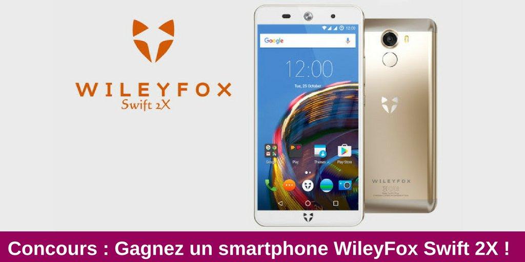 [#Concours] Gagnez le smartphone #Swift2X de @Wileyfox_fr ! 📱 Follow + RT pour participer 🎁