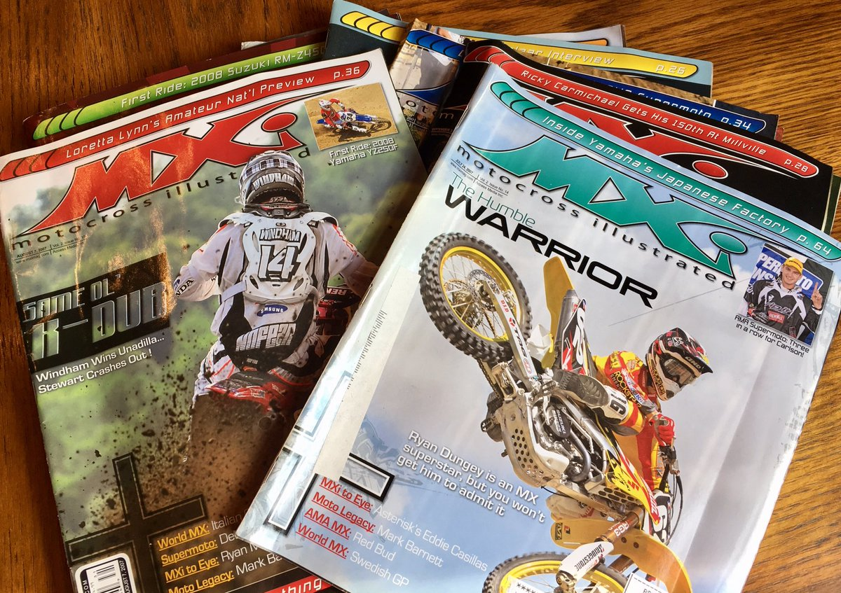 test Twitter Media - Ten years later and @RyanDungey is still the Humble Warrior. @RealSteveCox nailed that cover with his Motocross Illustrated mag back in '07 https://t.co/KrpGOOePW3