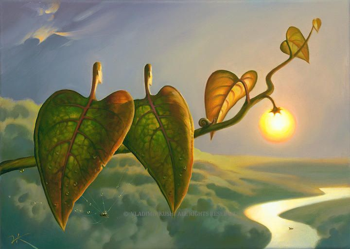Always make room for the unexpected in yourself. STEVE MARTIN #amwriting  #Art Vladimir Kush https://t.co/QBcZGr5dtE |RT @noveliciouss /Yes!