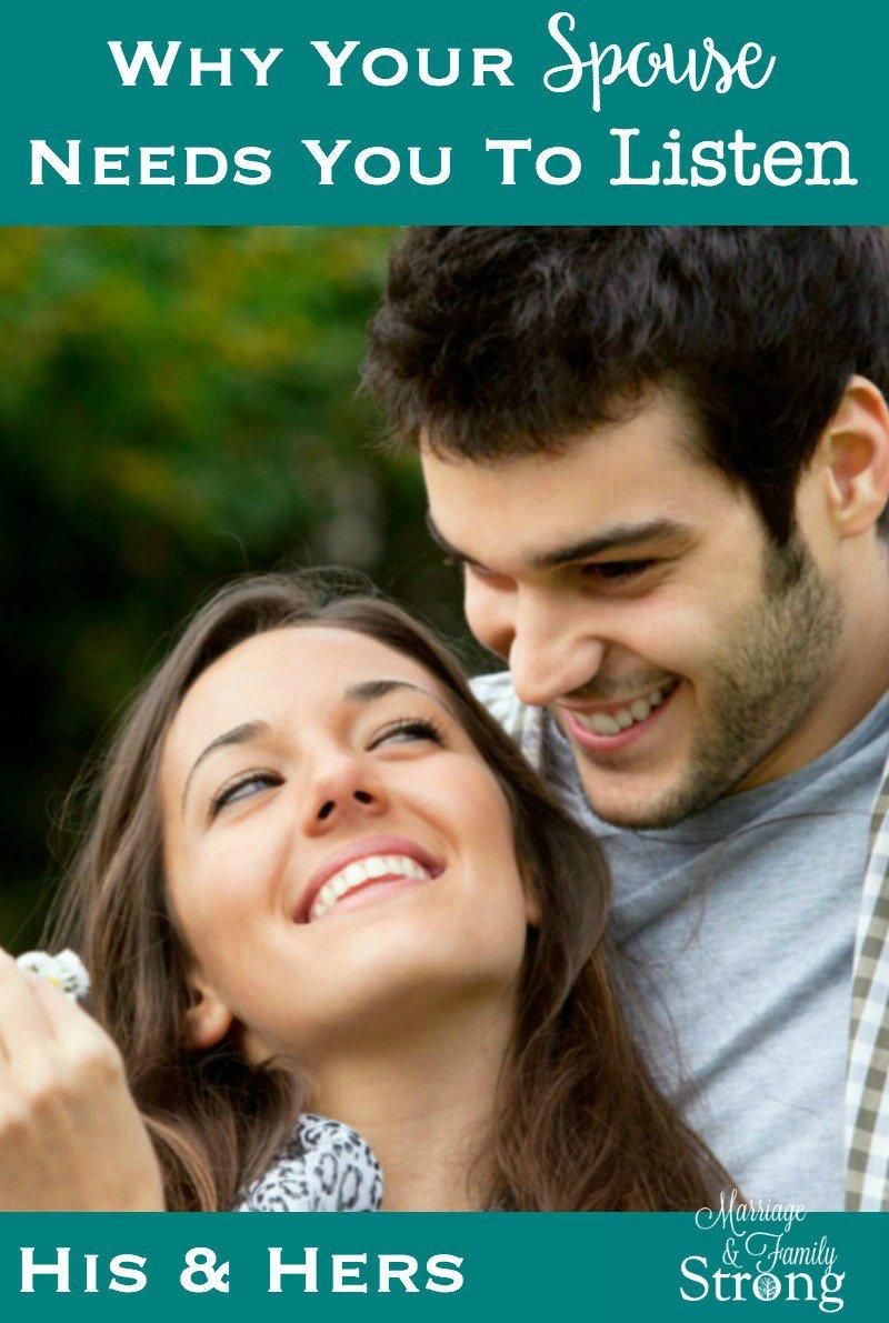 Why your spouse needs you to listen  http:// bit.ly/2hmHLlt  &nbsp;    #marriage #communication #listen #putintheeffort #love #understanding<br>http://pic.twitter.com/dCHmu9EUbA