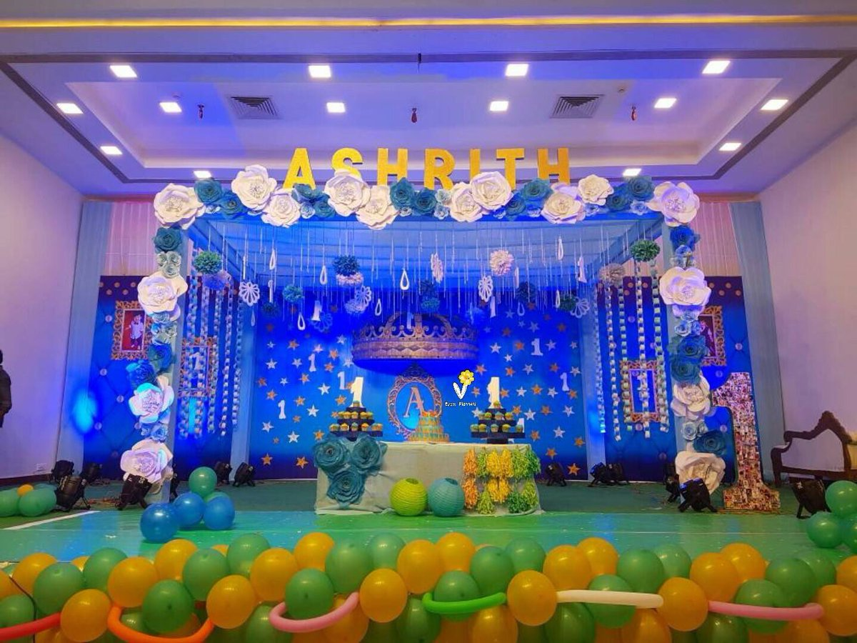 V Event Planners on Twitter 1st BirTHday party to ASHRITH