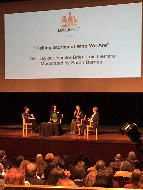 Big thanks to @dpla for organizing #DPLAfest, and allowing us to engage with so many knowledgeable subject matter experts at this event! https://t.co/UFdYxfPJuH
