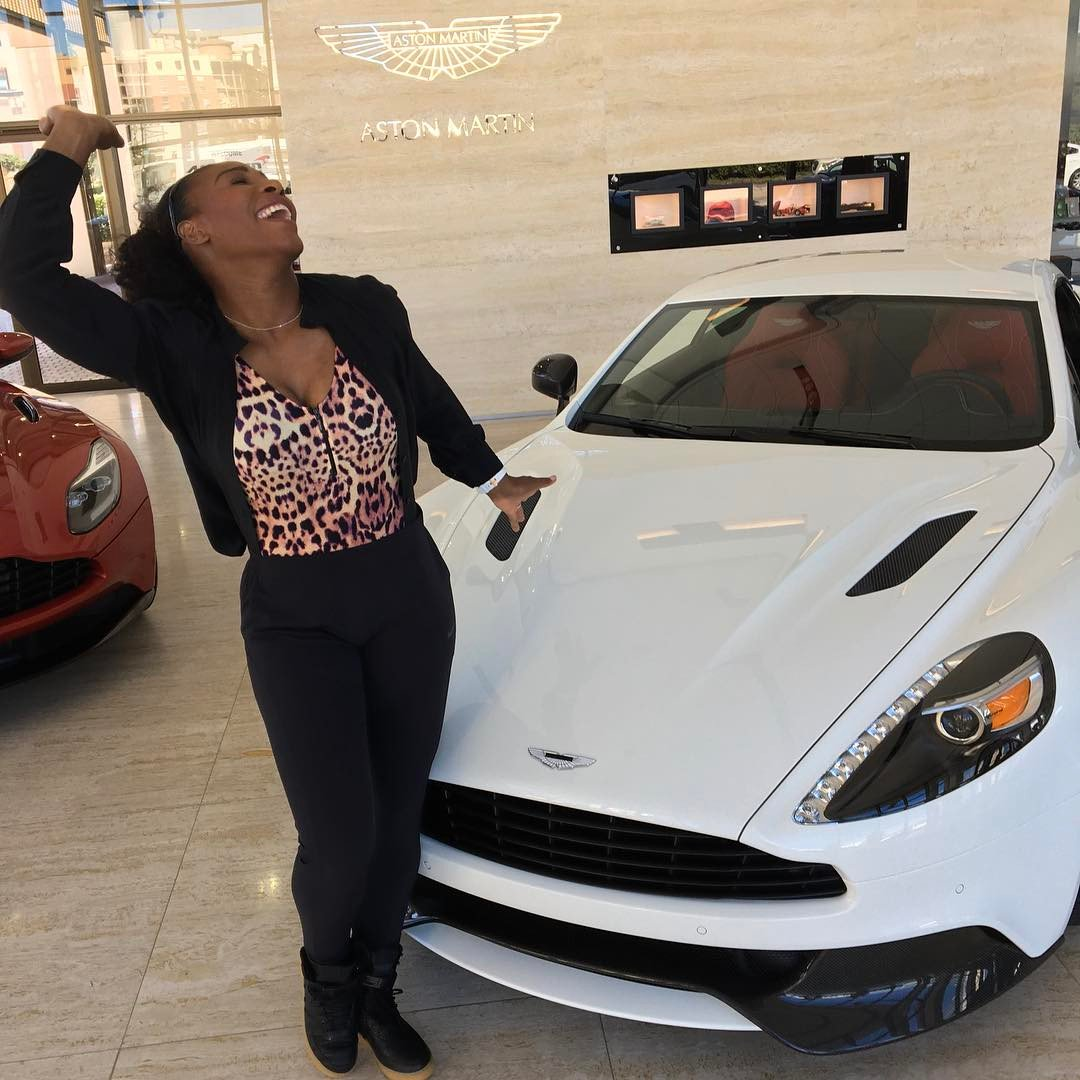 @serenawilliams We're delighted to hear your exciting news! Congratulations from all your friends at Aston Martin.