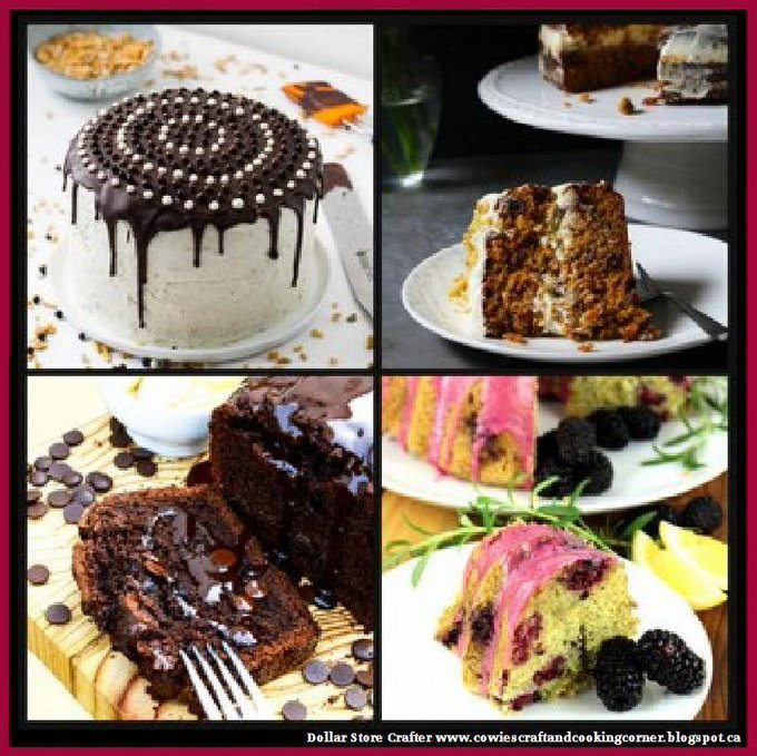 4 Delicious Cake Recipes
