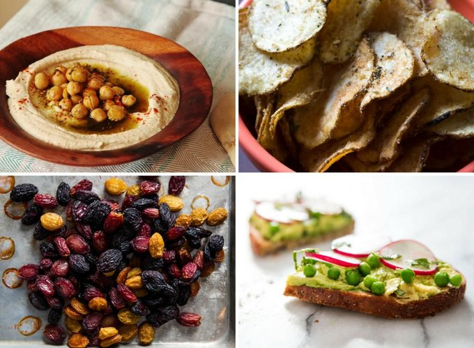 14 Vegan Snack Recipes to Satisfy Every Craving
