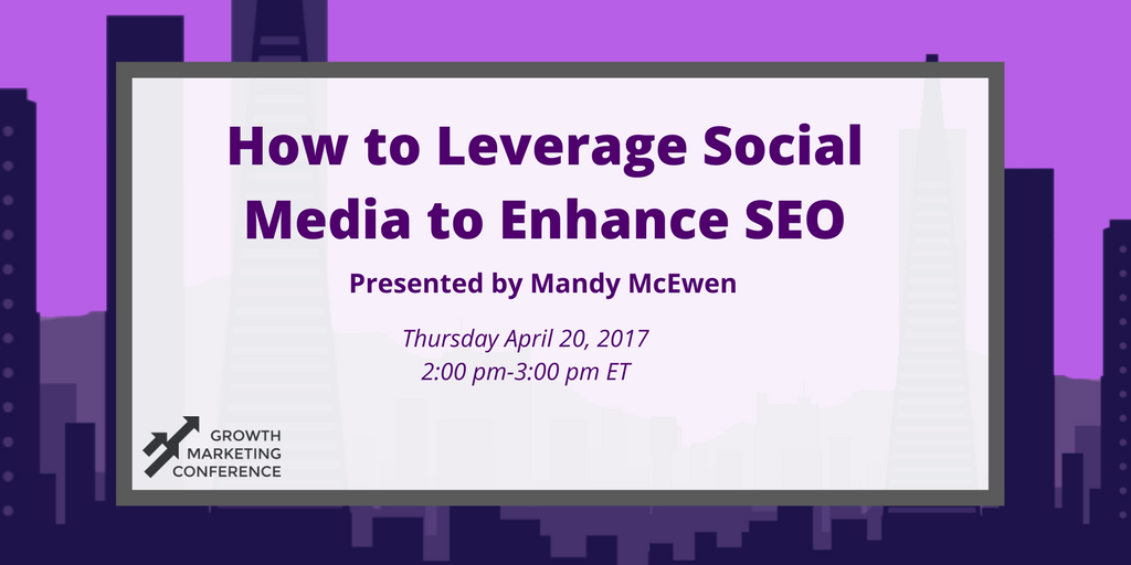 Join @MandyModGirl and @GrowthTactics today to get tips for using #SocialMedia to boost #SEO. Register here: https://t.co/Bf3mOtlNEU
