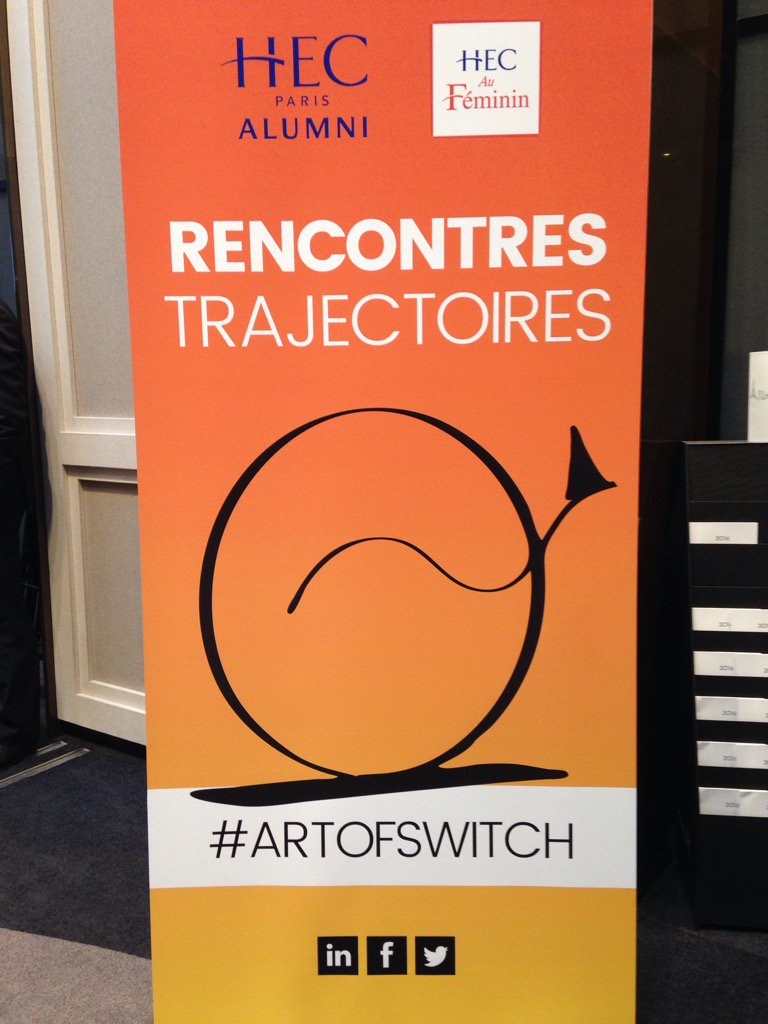 Les rencontres Trajectoires commencent soon keep you posted #artofswitch @hecaufeminin lets be inspired! https://t.co/zOBLbMMDLi