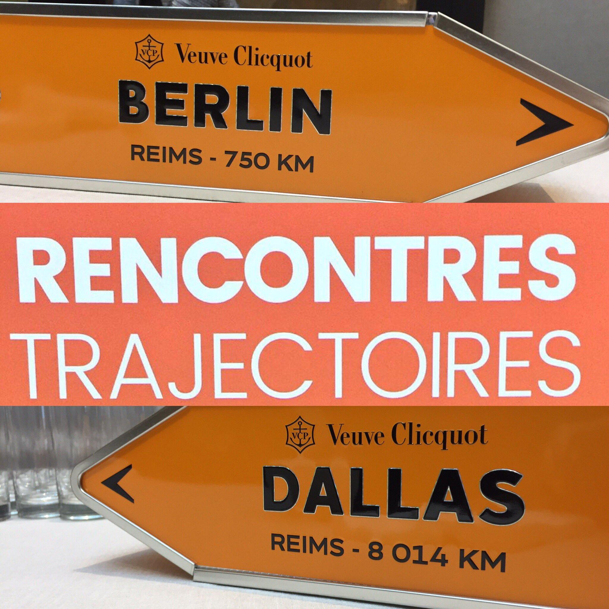 Dallas ?Berlin ? ou Singapour ? Ce soir les rencontres trajectoires ont lieu à Paris ! 😉 chez @ODDO_BHF #ArtOfSwitch avec @VeuveClicquot https://t.co/zK2PcrEjlI