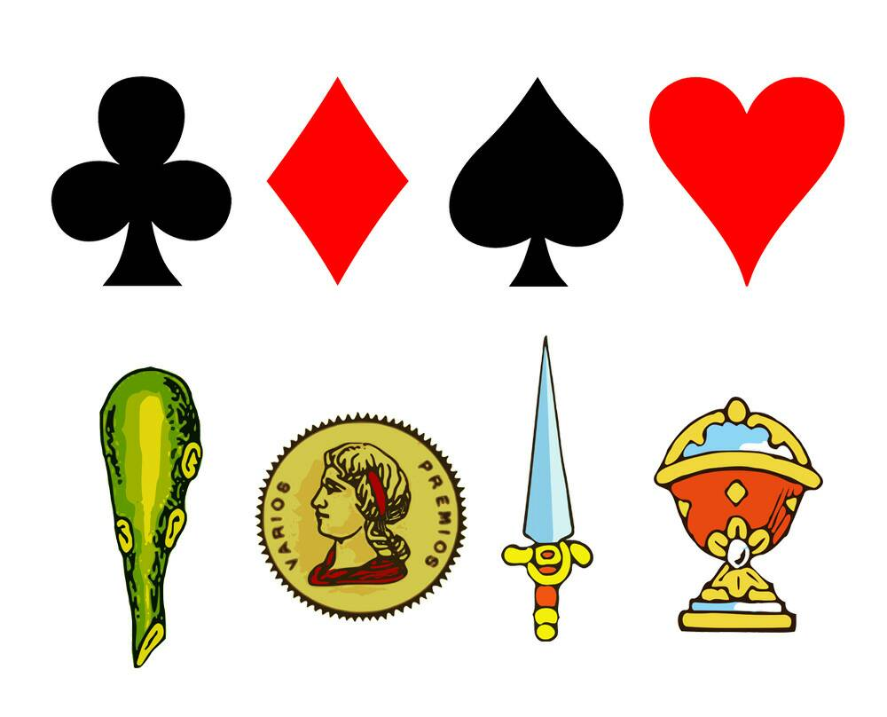 The curious origin and meaning of the #symbols of the cards   http:// ow.ly/nmNs30aXygj  &nbsp;  <br>http://pic.twitter.com/EF6m5sSwW2