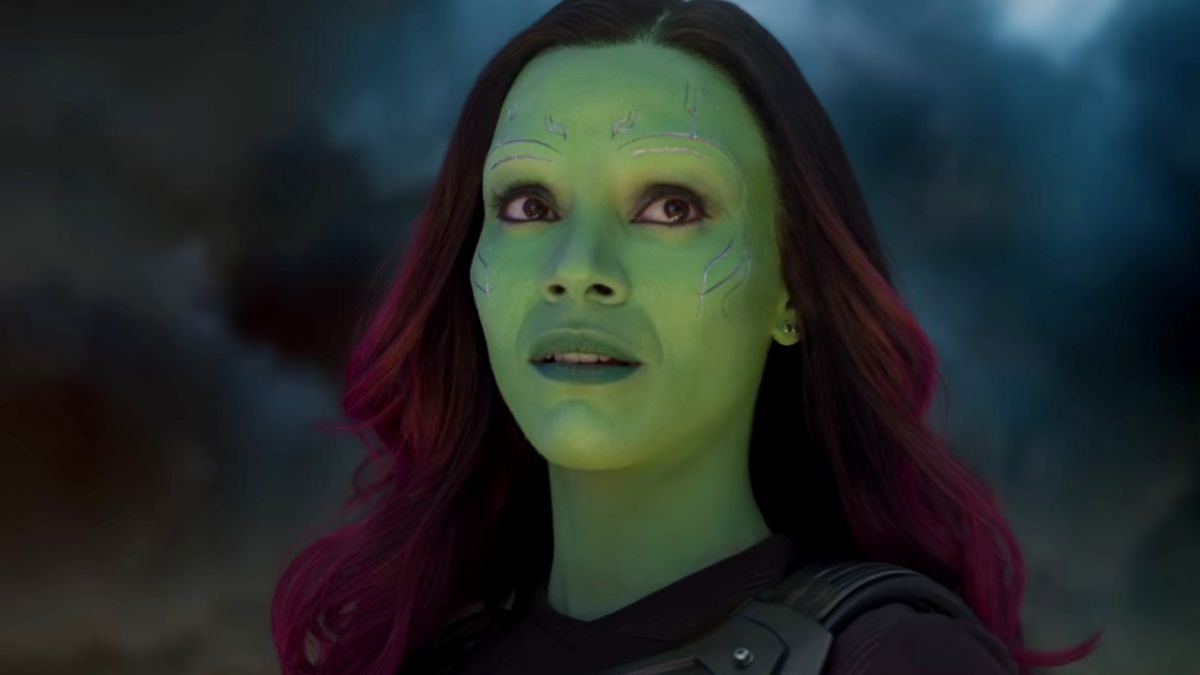 gamora from guardians of the galaxy has a pretty good