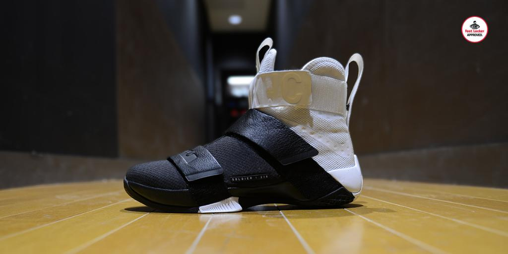 7476042b17dc  footlocker 2 years. homage to the journey from akron to cleveland the zoom  lebron soldier 10 pinnacle is in