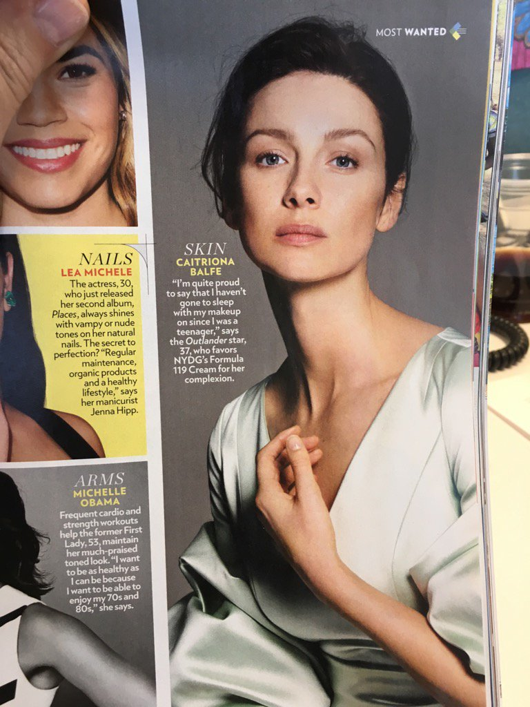 But of COURSE @caitrionambalfe is featured in @people annual Most Beautiful issue! #Outlander #gethermoisturizer https://t.co/TTBVaync9j