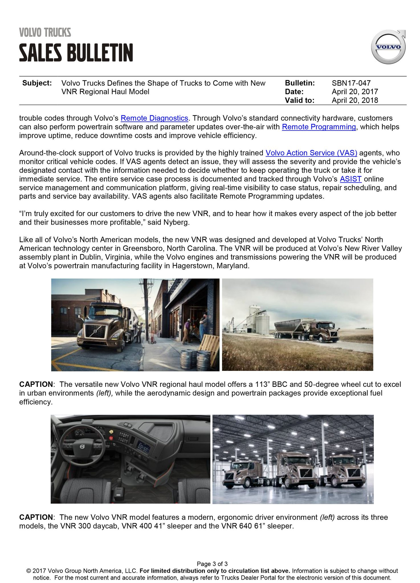 """Vision Truck Group on Twitter """"The new Volvo VNR is here… """""""