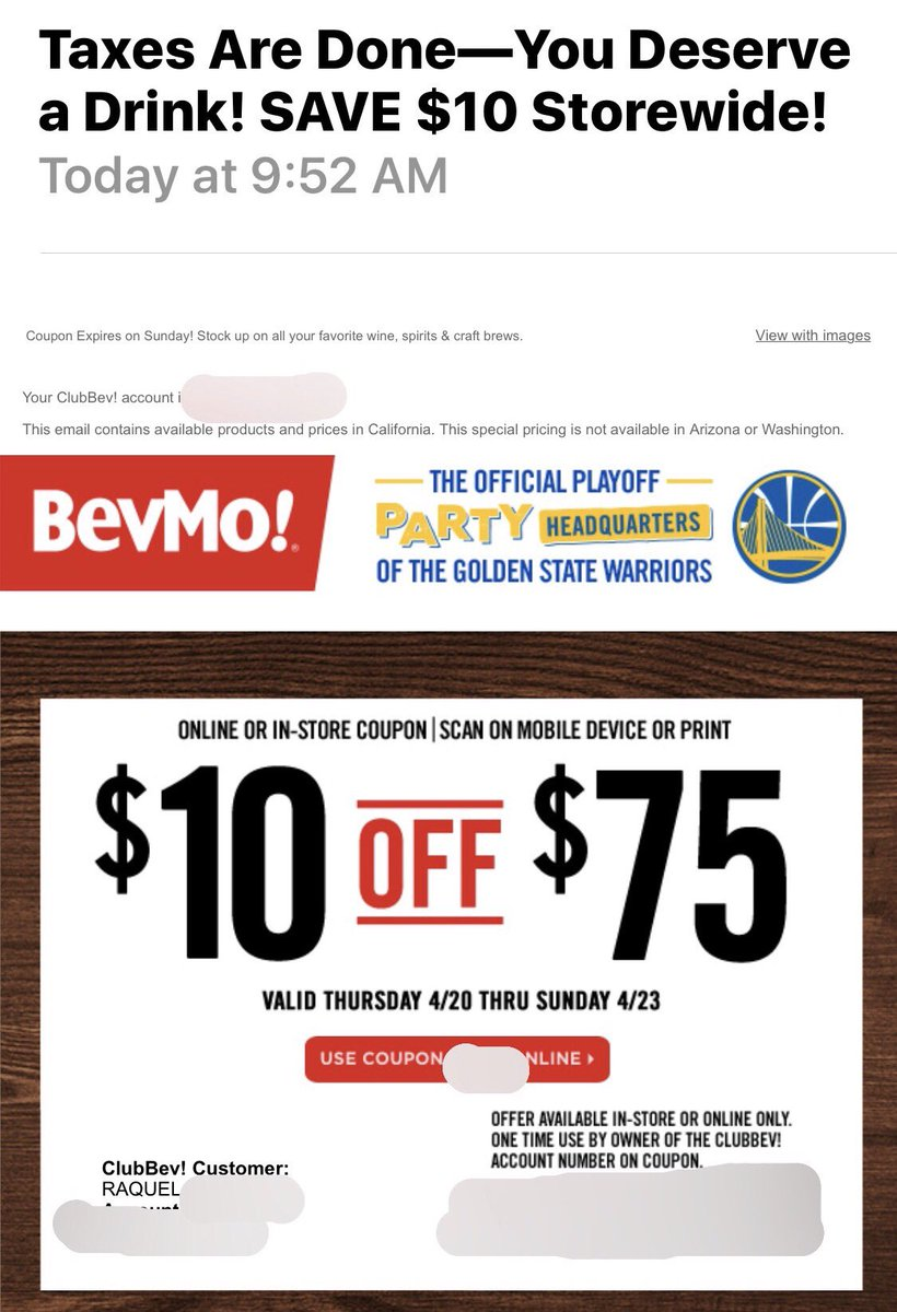 Bevmo discount coupon