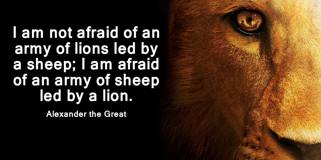 """Gary Hensel on Twitter: """"I am not afraid of an army of ..."""