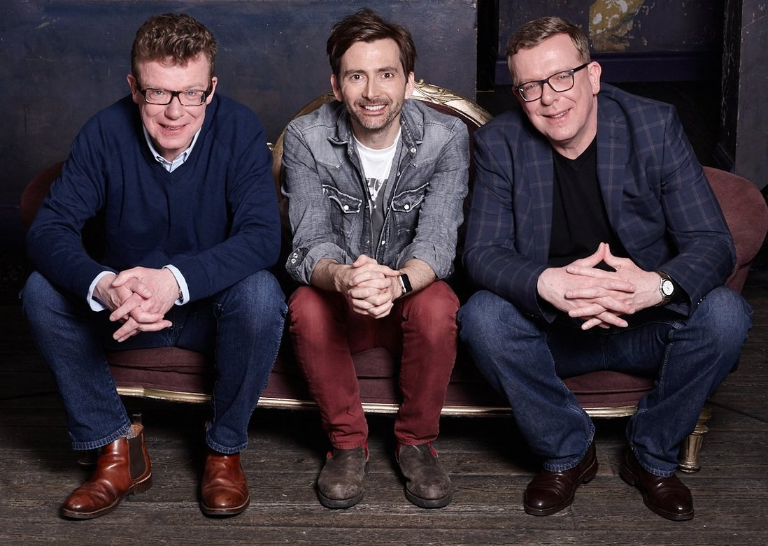 David Tennant with The Proclaimers from a BBC TV Scotland documentary