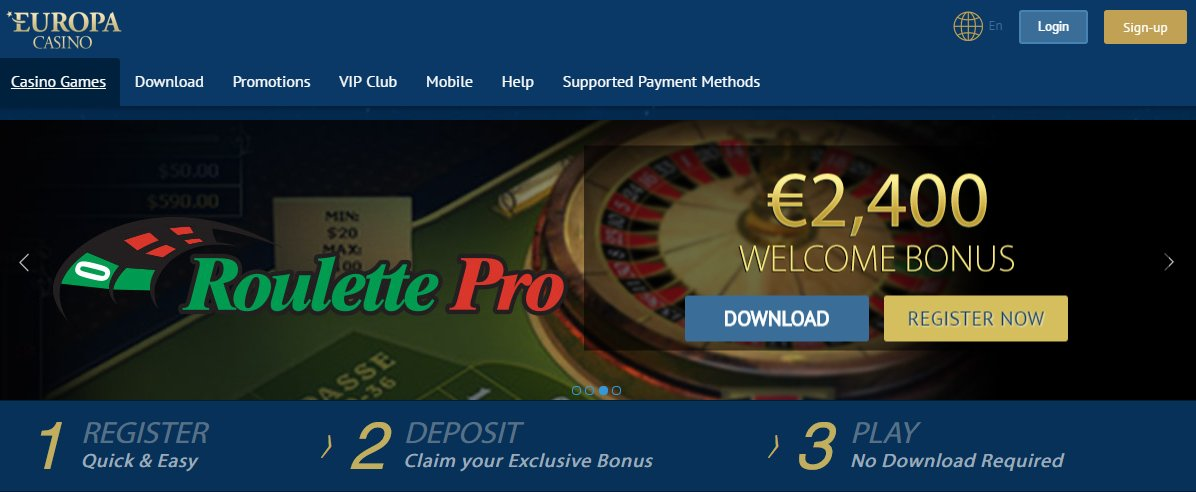 europa casino online play