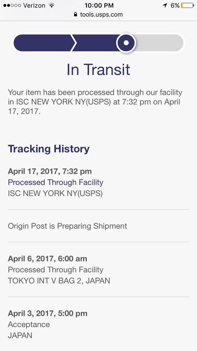 Processed through sort facility isc new york ny