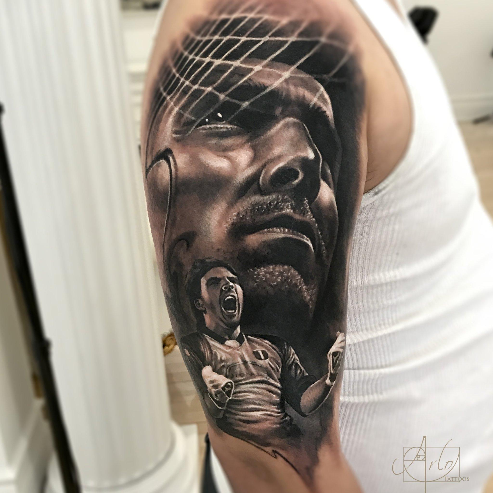 "Arlo Di Cristina Arm Tattoo: Arlo Dicristina On Twitter: ""Tattoo Of @gianluigibuffon I"