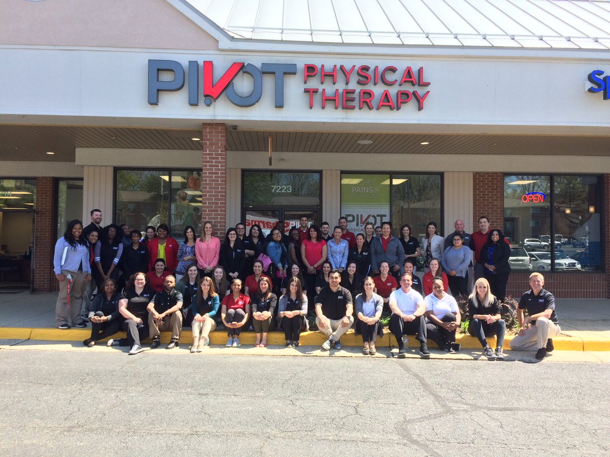 Pivot Physical Therapy On Twitter Our Northern Virginia Team Is Constantly Growing And Filled With Amazing Individuals Getpt1st Family