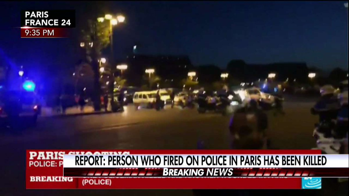 Police sources: At least two were involved in the shooting incident. #Paris #ChampsElysees